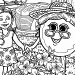 Florida Blueberry Festival has us illustrate their mascots
