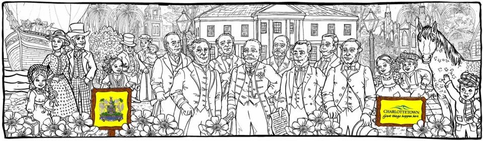 Fathers of Confederation - PEI - 2 - 1586