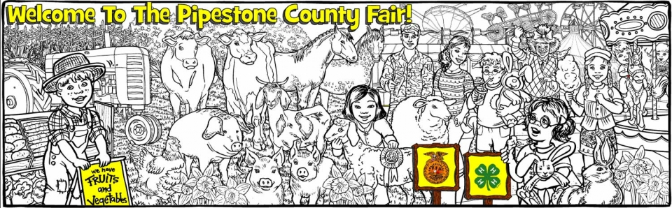 Pipestone Co Fair - 1608