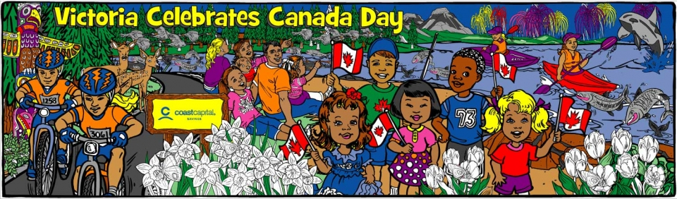 Canada Day On The Beach - 1466