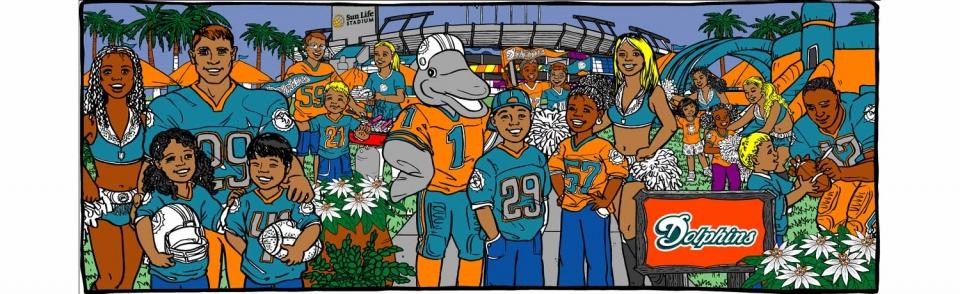 Miami Dolphins - 1383